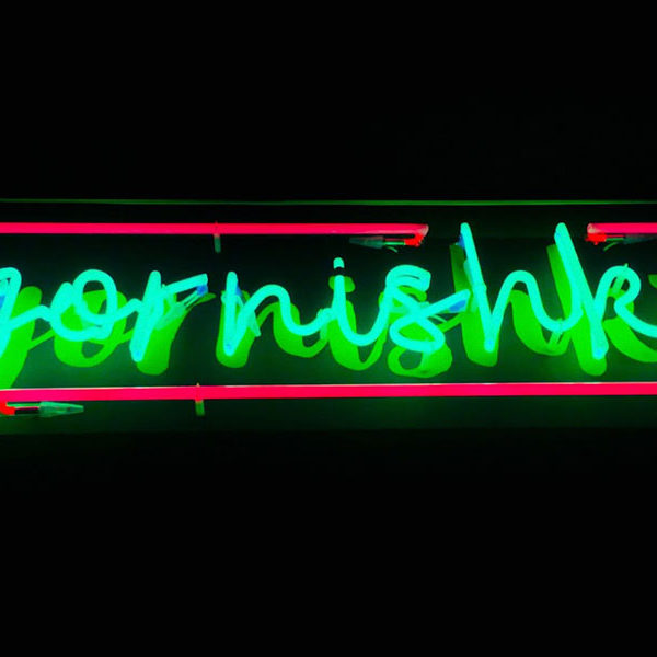 Letrero de neon en barcleona